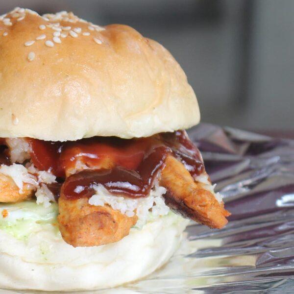Cafe Zotpot BBQ Burger
