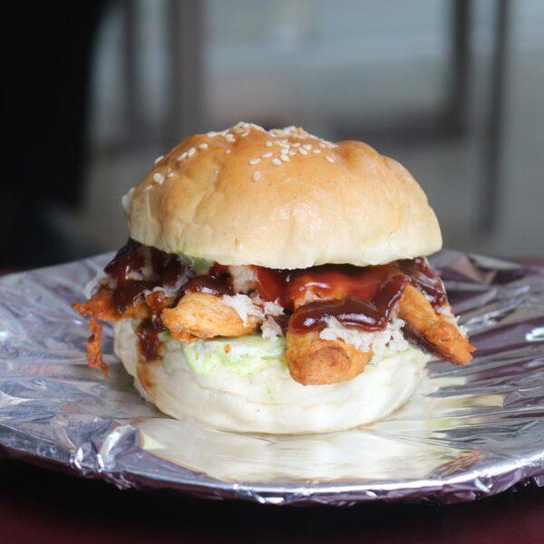 Cafe Zotpot Baby BBQ Burger