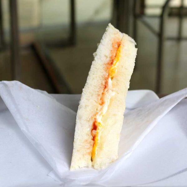 Cafe Zotpot Egg Sandwich