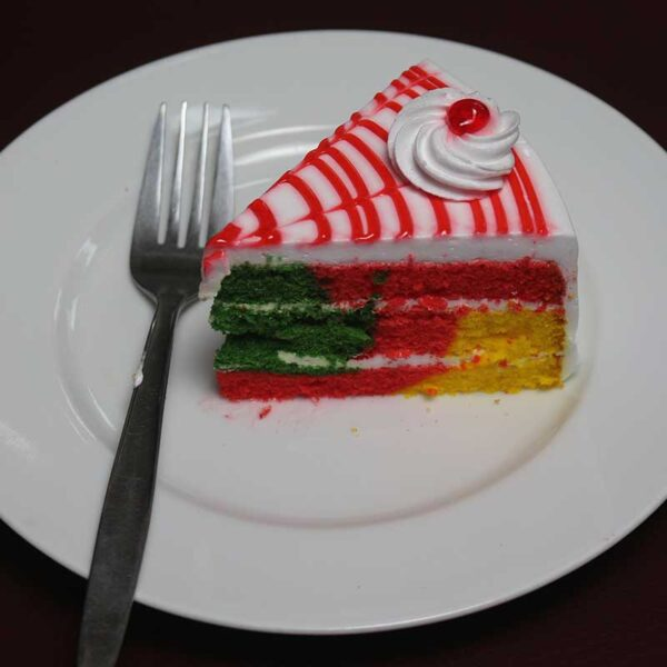 Cafe Zotpot Rainbow Pastry