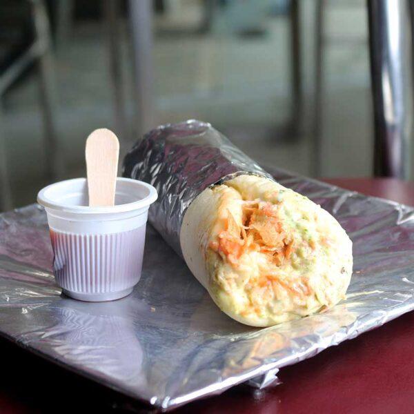 Cafe Zotpot Shwarma Roll