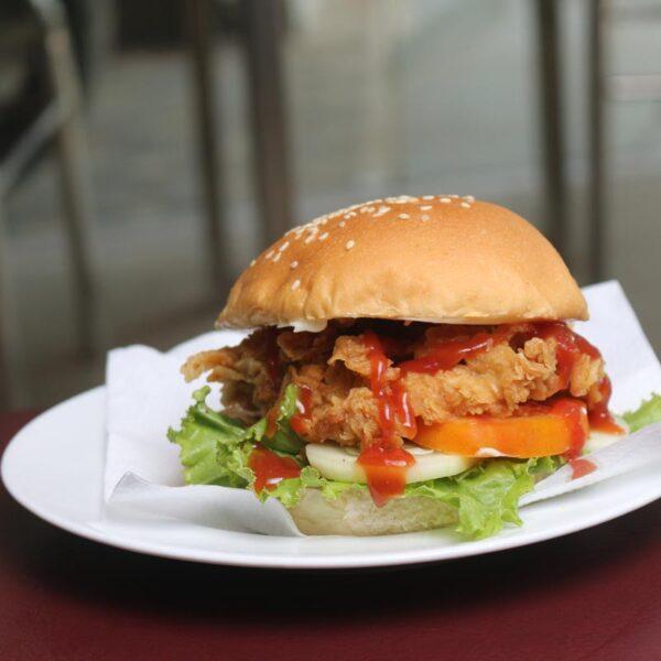 CafeZotpot Baby Burger